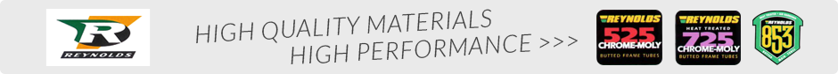 HIGH QUALITY MATERIALS - HIGH PERFORMANCE
